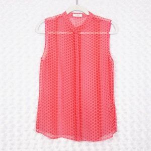 Equipment Polka Dot Blouse